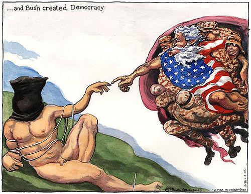 democracia-bush