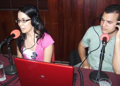 Carlos y Bere en la radio 09